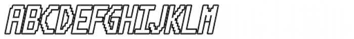 HAL 9000 AOE Bold Italic Font UPPERCASE