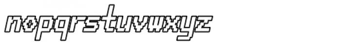 HAL 9000 AOE Bold Italic Font LOWERCASE