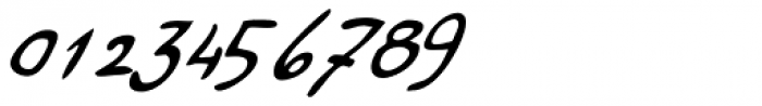 Haakke Slanted Font OTHER CHARS