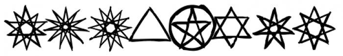 Haakke Symbols Font OTHER CHARS
