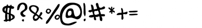 Haakke Font OTHER CHARS