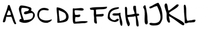 Haakke Font UPPERCASE