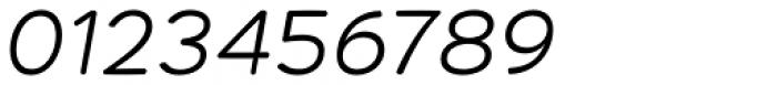 Habanera Rounded Light Italic Font OTHER CHARS