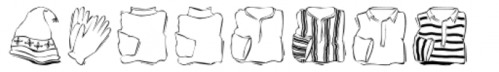 Haberdasher Font UPPERCASE