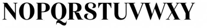 Haboro Con Extra Bold Font UPPERCASE