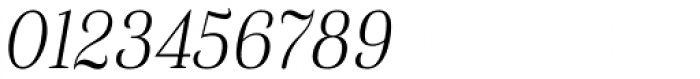 Haboro Con Thin Italic Font OTHER CHARS