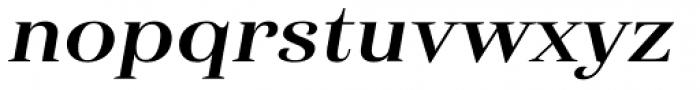 Haboro Ext Bold Italic Font LOWERCASE