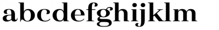 Haboro Ext Bold Font LOWERCASE