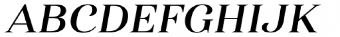 Haboro Ext Demi Italic Font UPPERCASE