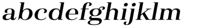 Haboro Ext Demi Italic Font LOWERCASE