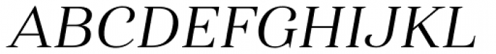 Haboro Ext Regular Italic Font UPPERCASE