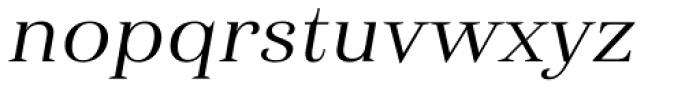 Haboro Ext Regular Italic Font LOWERCASE