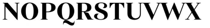 Haboro Nor Extra Bold Font UPPERCASE