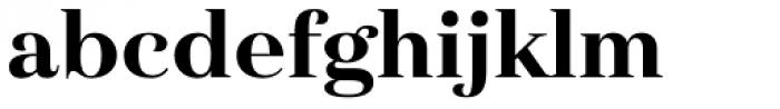 Haboro Nor Extra Bold Font LOWERCASE