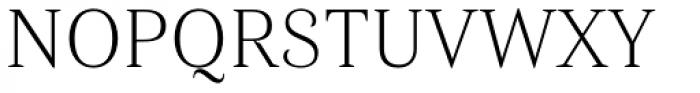 Haboro Nor Thin Font UPPERCASE