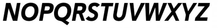 Haboro Sans Cond ExBold Italic Font UPPERCASE