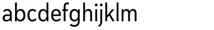 Haboro Sans Cond Regular Font LOWERCASE