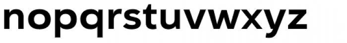 Haboro Sans Ext Bold Font LOWERCASE