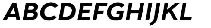 Haboro Sans Ext ExBold Italic Font UPPERCASE
