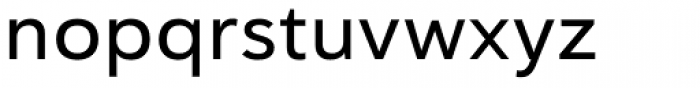 Haboro Sans Ext Medium Font LOWERCASE