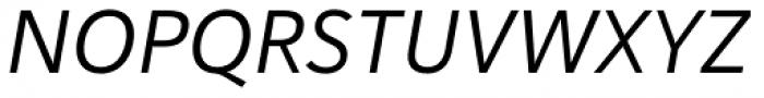 Haboro Sans Norm Regular Italic Font UPPERCASE