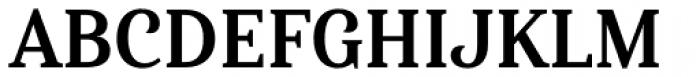 Haboro Serif Condensed Bold Font UPPERCASE