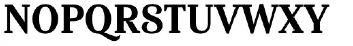 Haboro Serif Condensed Extra Bold Font UPPERCASE