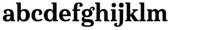 Haboro Serif Condensed Extra Bold Font LOWERCASE