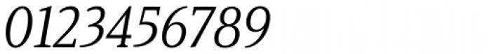 Haboro Serif Condensed Regular Italic Font OTHER CHARS