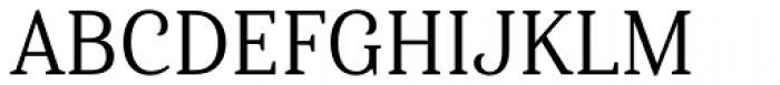 Haboro Serif Condensed Regular Font UPPERCASE