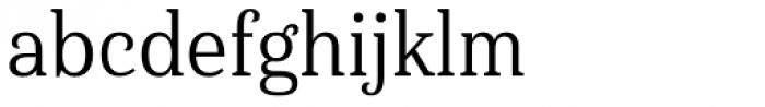 Haboro Serif Condensed Regular Font LOWERCASE