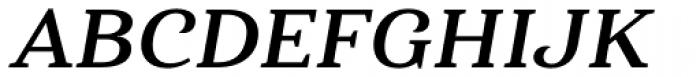 Haboro Serif Extended Bold Italic Font UPPERCASE
