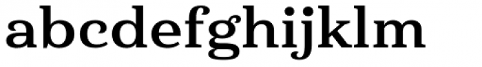 Haboro Serif Extended Bold Font LOWERCASE