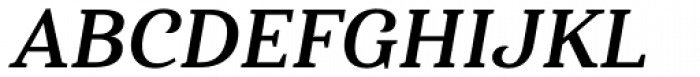 Haboro Serif Normal Bold Italic Font UPPERCASE