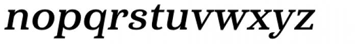 Haboro Serif Normal Bold Italic Font LOWERCASE