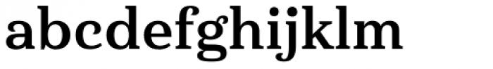 Haboro Serif Normal Bold Font LOWERCASE