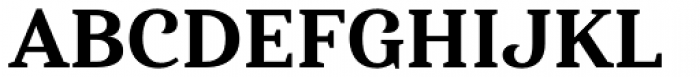 Haboro Serif Normal Extra Bold Font UPPERCASE