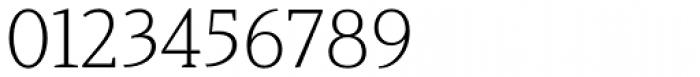 Haboro Serif Normal Light Font OTHER CHARS