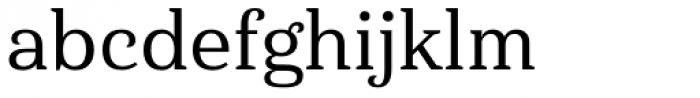 Haboro Serif Normal Medium Font LOWERCASE