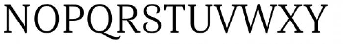 Haboro Serif Normal Regular Font UPPERCASE