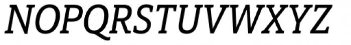 Haboro Slab Condensed Demi Italic Font UPPERCASE