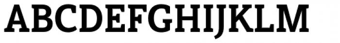 Haboro Slab Condensed Ex Bold Font UPPERCASE