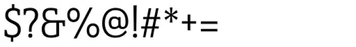 Haboro Slab Condensed Regular Font OTHER CHARS