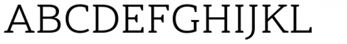 Haboro Slab Extended Book Font UPPERCASE