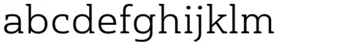 Haboro Slab Extended Book Font LOWERCASE