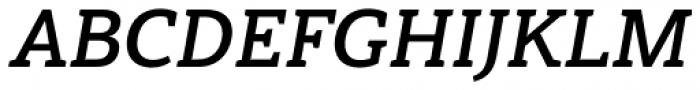 Haboro Slab Normal Bold Italic Font UPPERCASE