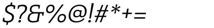 Haboro Slab Normal Regular Italic Font OTHER CHARS