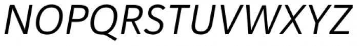 Haboro Soft Normal Regular Italic Font UPPERCASE