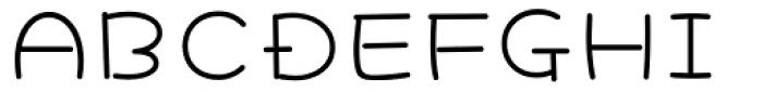 Hachi Maru Pop Font UPPERCASE