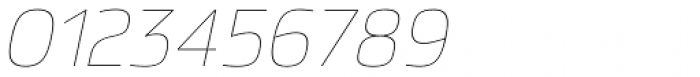 Hackman Thin Italic Font OTHER CHARS